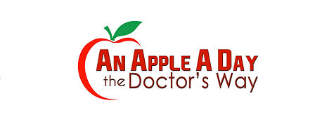 An Apple a Day the Doctor's Way logo