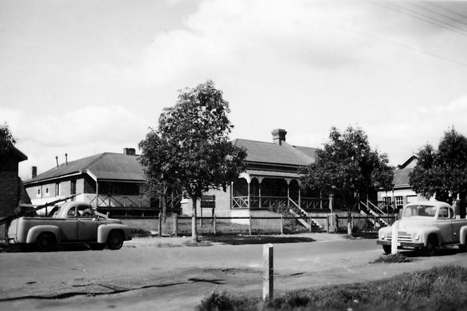Bridgetown Police Station c.1940