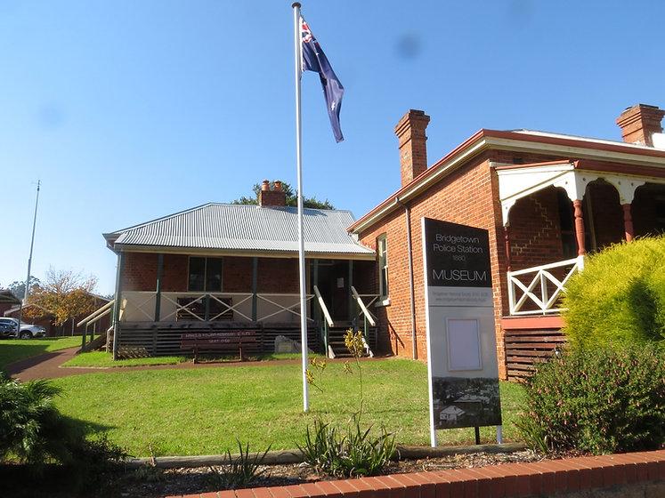 Bridgetown Police Station Museum 1880