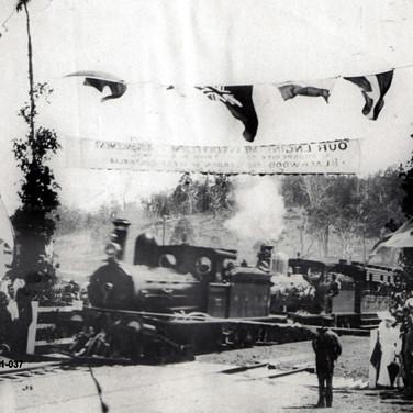 First train into Bridgetown Celebrations 1st November 1898