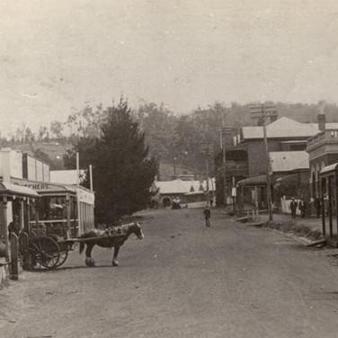 Hampton Street looking north c1918