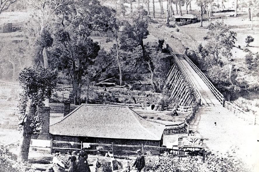 Bridgetown Police Station 1868