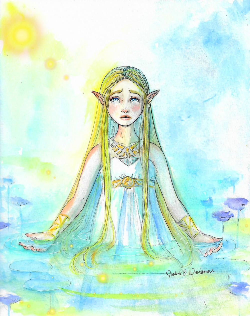 Legend Of Zelda Fan Art From Breath Of The Wild