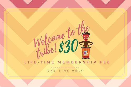 Life-time Membership Fee