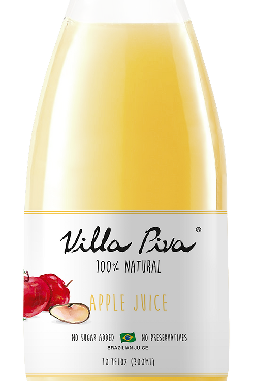 100% Natural Apple Juice- Box with 12 Bottles (10.1