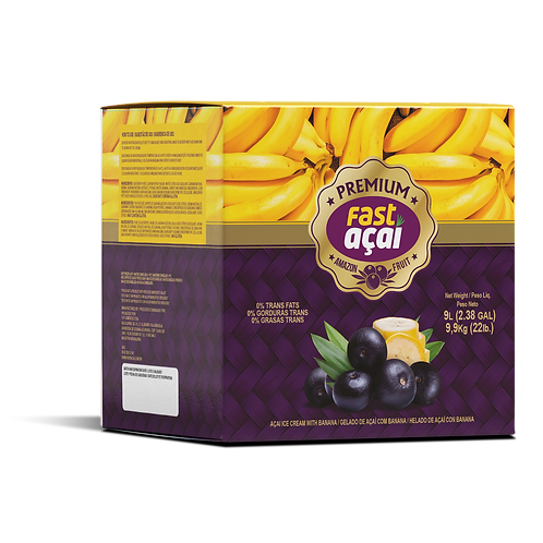 Premium Acai with Banana Sorbet (8.5kg box)