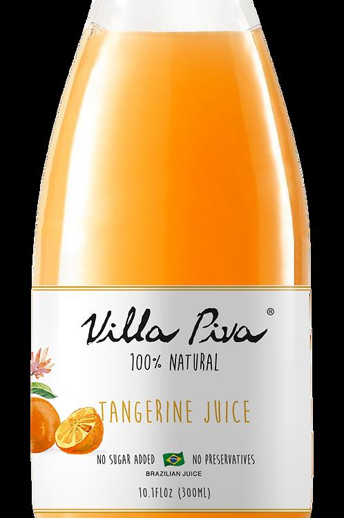 100% Natural Tangerine Juice - Box with 12 Bottles (10.1 FLoz ea