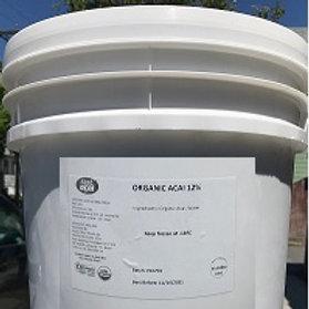 Organic 12% Acai pulp (18kg bucket)