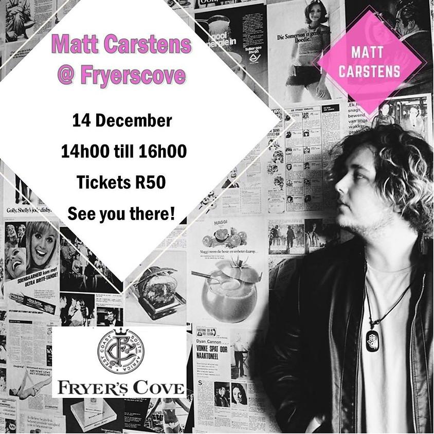 Matt Carstens at Fryers Cove Winery