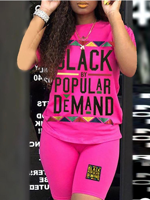 """By Popular Demand "" two piece shirt set"
