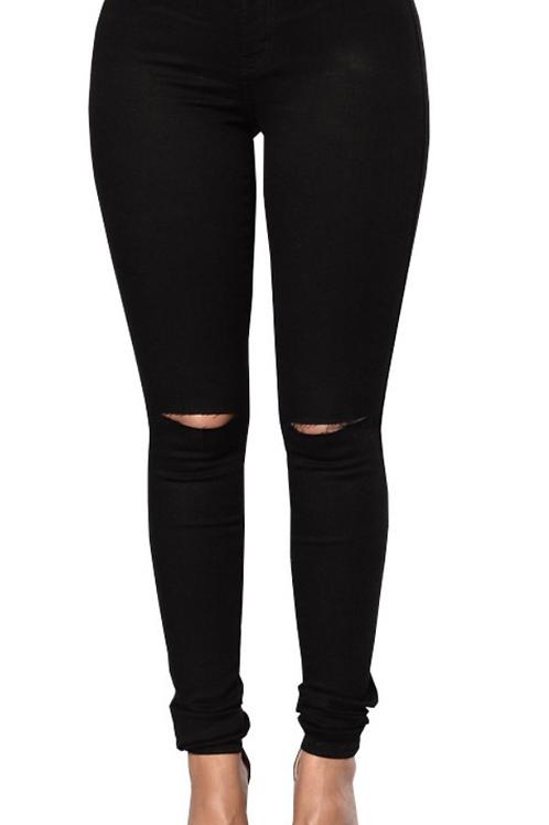 """ Black Hollow"" denim stretch jeans"
