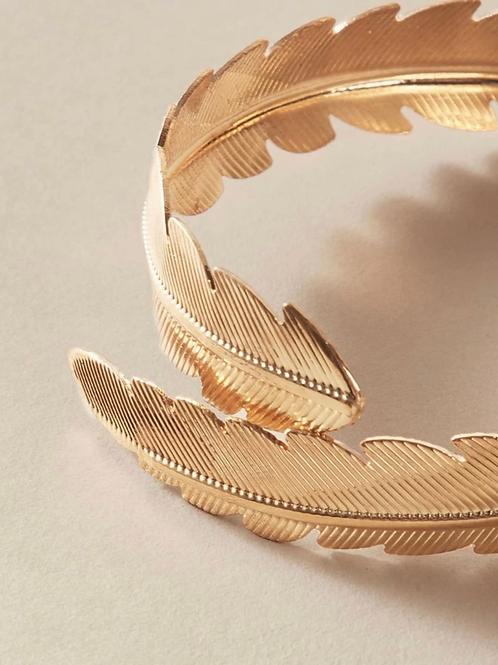 """ Leafing Now "" bracelet"