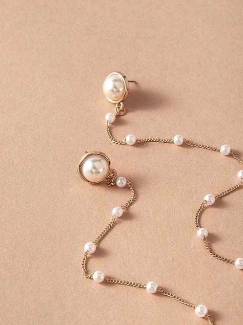 """"""" Pearlized """" earrings"""