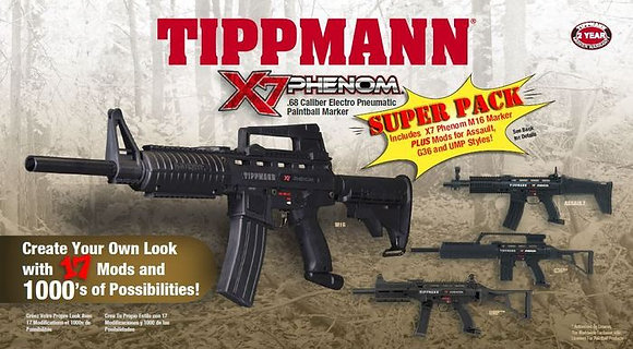 Tippmann X7 Phenom Super Pack