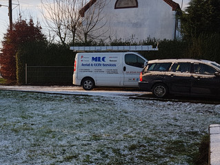 Chilly Start for this Installation