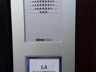 Gate Intercom & CCTV Camera