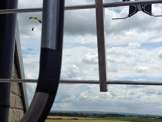 Aerial Installation @ the skydive Centre.