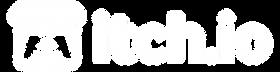 Itch White Logo
