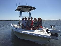 Masonboro island tours   Masonboro island water taxi