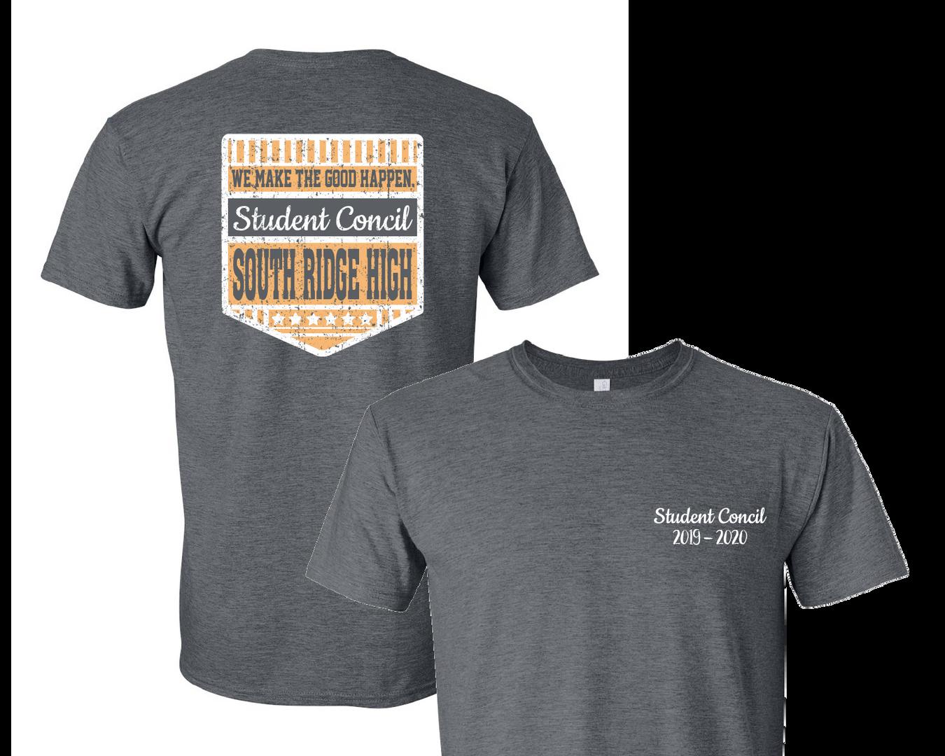 11123C Student Concil Designs - Shirt