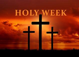 Holy Week Resources