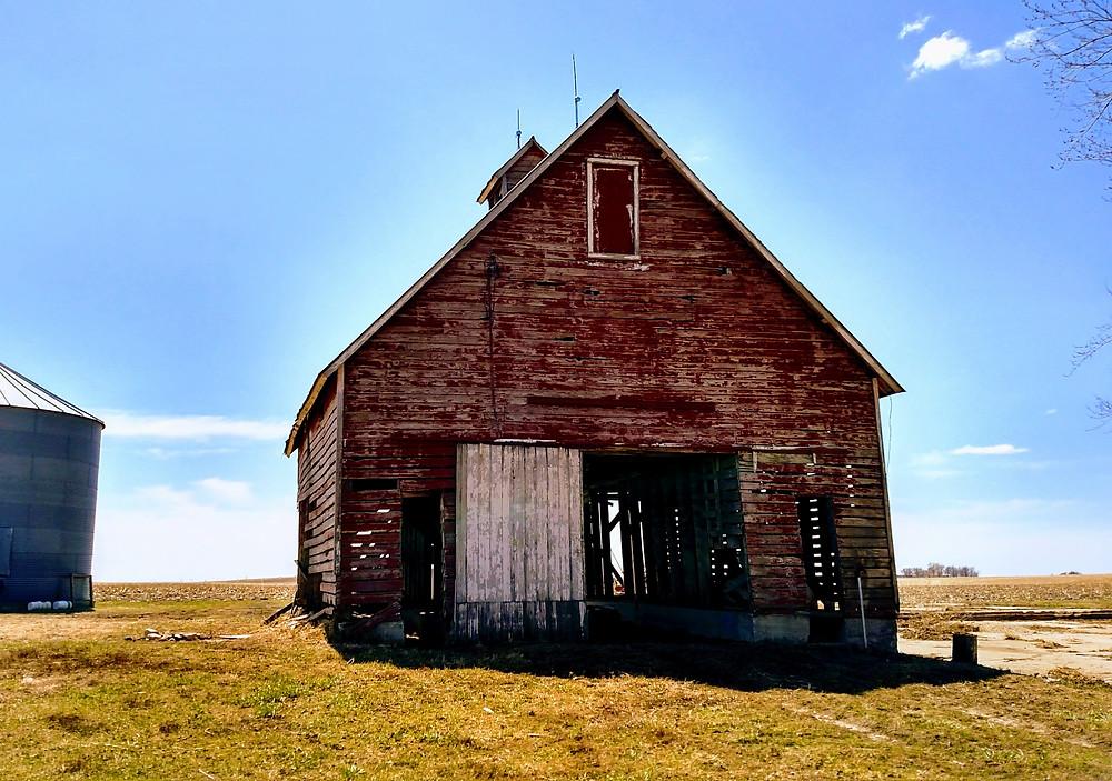 Woodley Corn Crib Barn