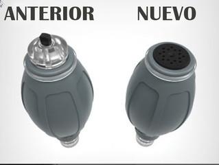 Cambios en la bomba de mano de la Hydroxtreme