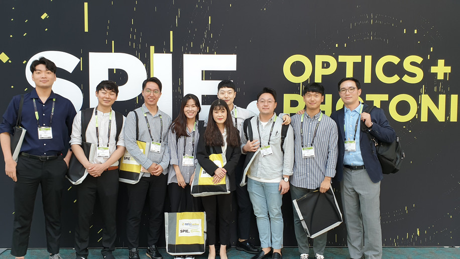 2019 Fall @ SPIE Optics + Photonics
