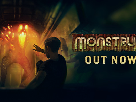 Monstrum is out NOW on consoles!