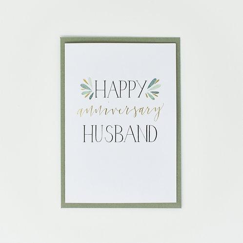 Happy Anniversary Husband
