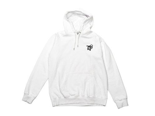 Pipe hoodie | White