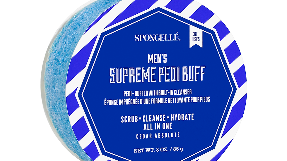 Spongelle Men's Supreme Pedi Buff