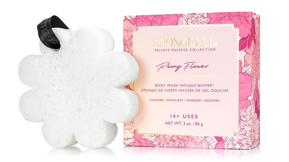 Spongelle Peony Flower