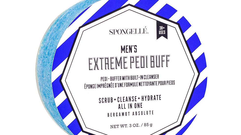 Spongelle Men's Extreme Pedi Buff