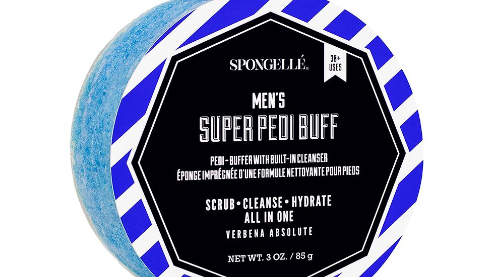 Spongelle Men's Super Pedi Buff