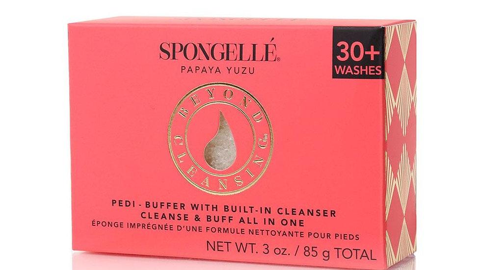 Spongelle Papaya Yuzu Pedi-Buffer