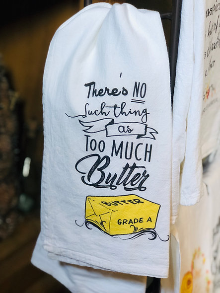 Too Much Butter?