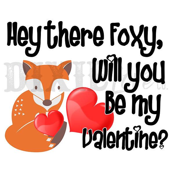 Foxy 8x8 Printable