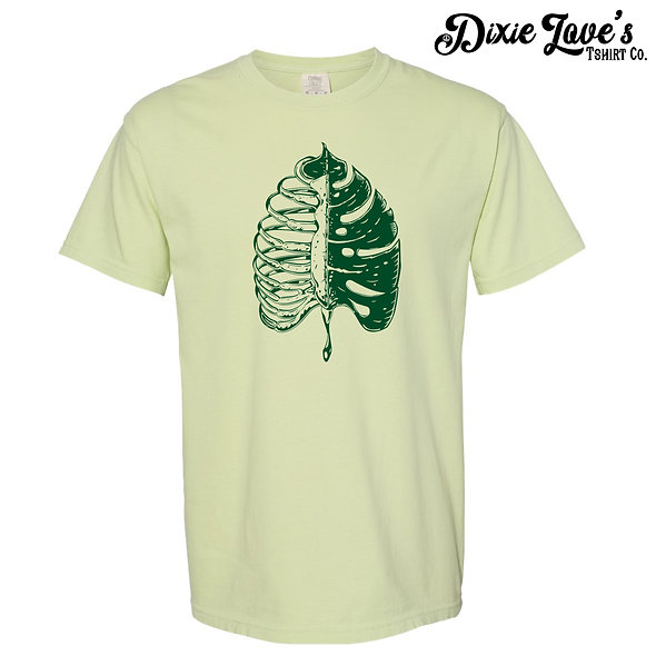 I Bleed Green Plant Lover Shirt