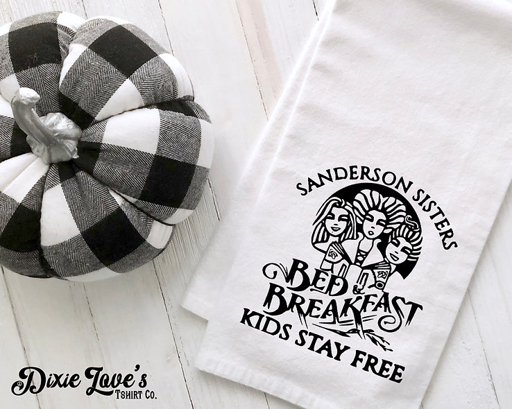 Sanderson Sister's Bed & Breakfast Towel