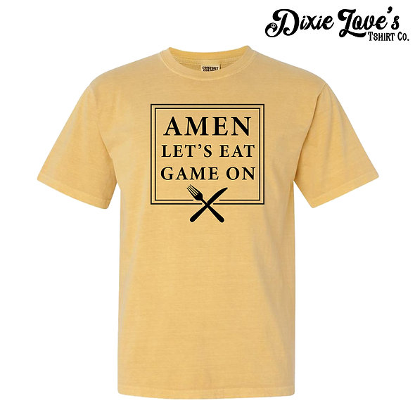 Amen, Lets Eat, Game On Shirt