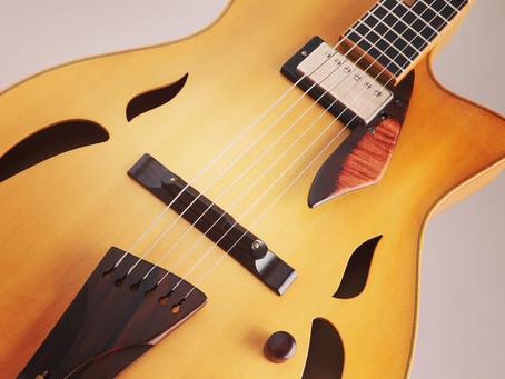 Yamaoka guitars, made in japan guitars, for handmade jazz guitars lovers
