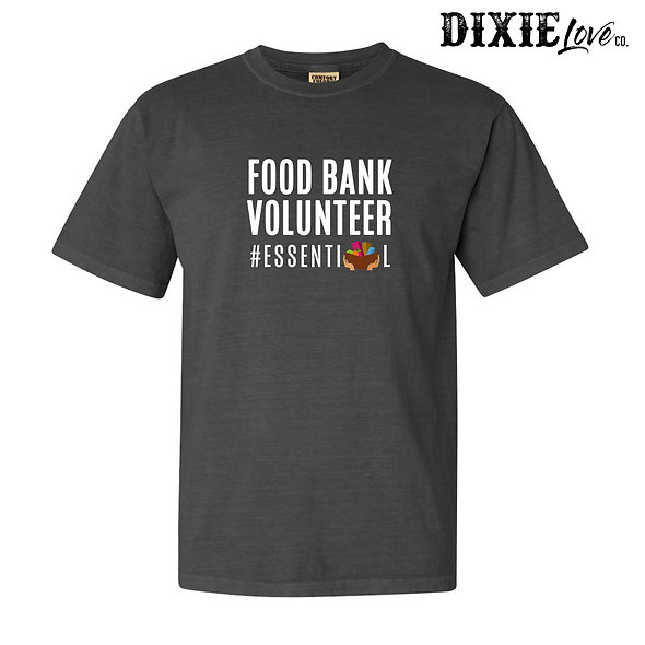 Food Bank Volunteer Essential
