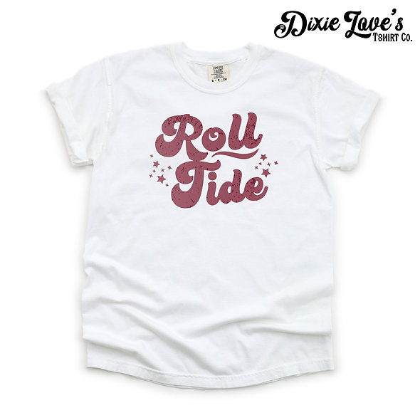 Roll Tide Retro Comfort Color Shirt