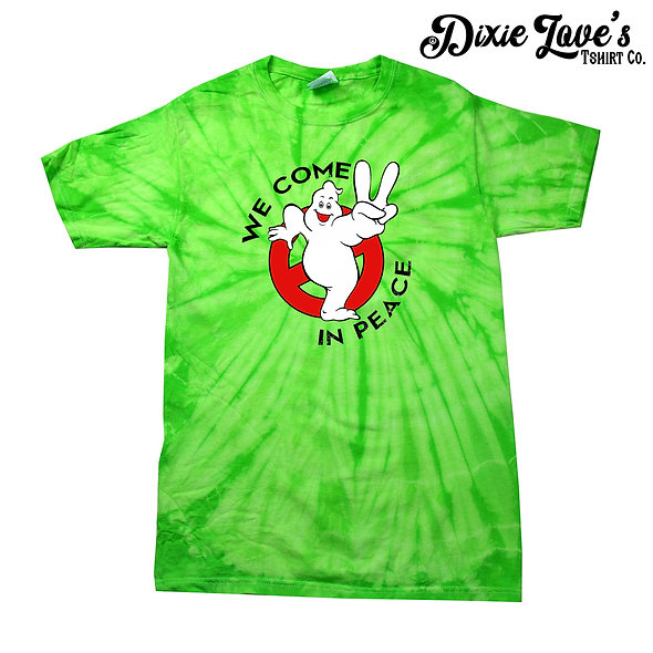 We Come In Peace Ghostbusters Shirt