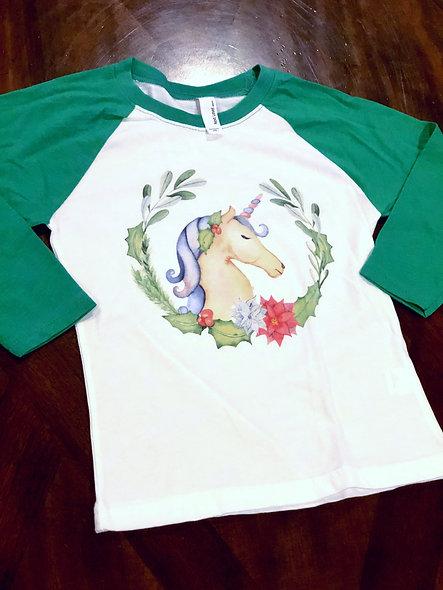 It's a Unicorn Christmas (kids shirt)