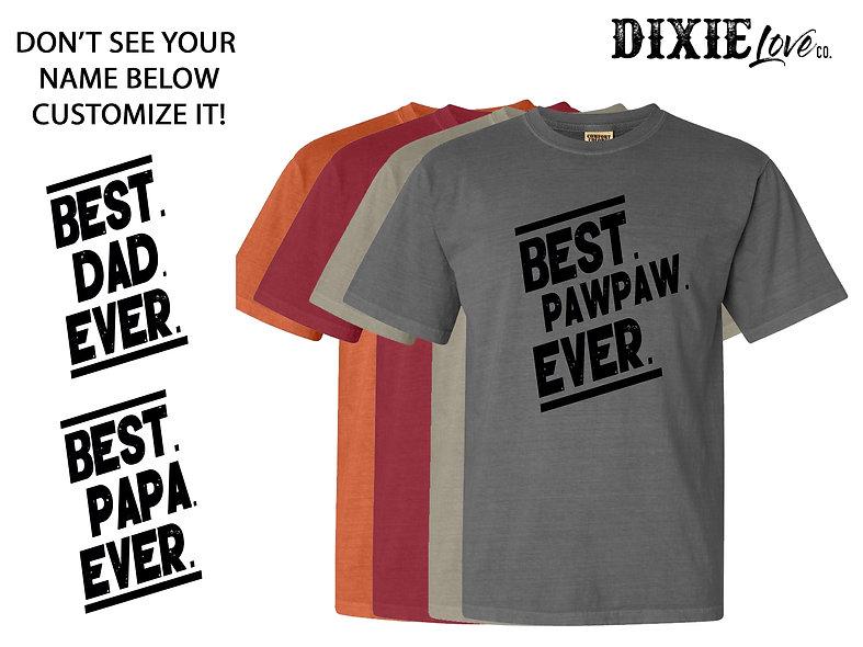 Best Pawpaw Ever Custom Shirt