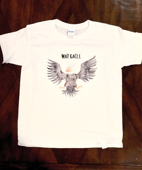 War Eagle (unisex kids shirt)