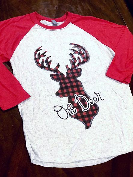 Oh Deer (adult shirt)