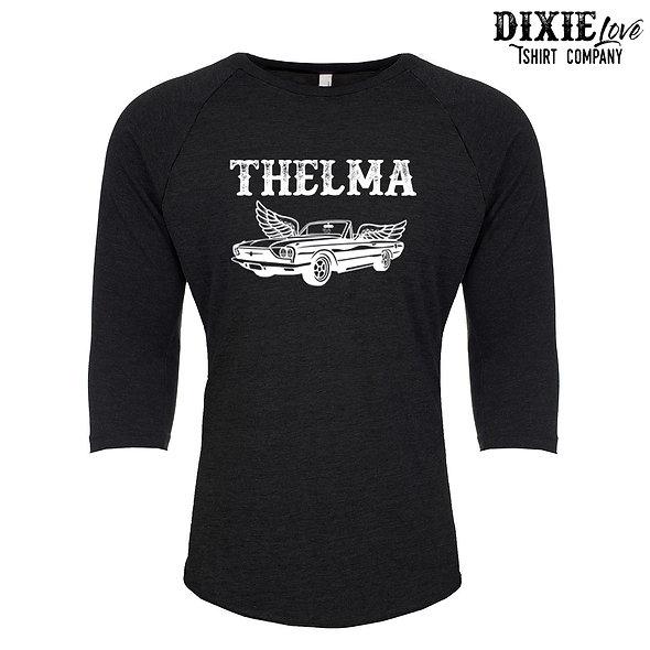 Thelma and Louise Raglan Tshirt